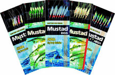 Mustad Sea Fishing Rigs - Mackerel/Pollack/Bass/Cod - All Varieties - Pack of 5!