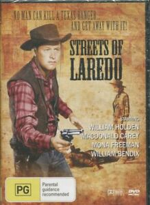 Streets of Laredo - William Holden New and Sealed DVD