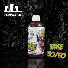 Tripple L  Premium E Liquid Base / Basen 1000 ml / VPG 50/50, 70/30, 80/20