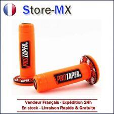 Paire de poignées Pro Taper Orange pour Moto-cross KTM 65 85 125 250cc
