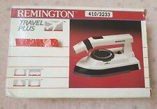 Remington Travel Plus Steam / Spray / Dry Travel Iron TL-216 Boxed White