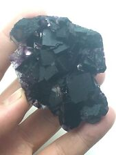 Okorusu Rare Purple Fluorite Crystal Gem Cluster Rare Namibia