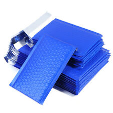 10pcs Small Poly Bubble Mailer Blue Self Seal Padded Envelopes Mailing Bas