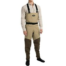 Frogg Toggs Canyon Breathable Fly Fishing Chest Waders Belt Stocking Foot Medium