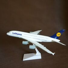 1/200 Lufthansa Airlines Airbus A380 airplane model with landing gears