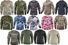 Camouflage Long Sleeve T-Shirt Tactical Military Tee