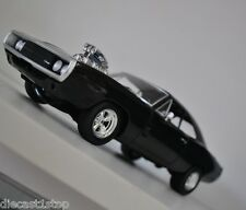1:18 Scale Hot Wheels Fast and Furious Dom's 1970 Dodge Charger R/T - Black