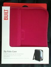 Built Zip Folio Case IPad 2 and IPad 3. Soft-sided, Convertible. Pink