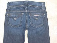 Hudson Signature Bootcut Jeans w Flap Pockets Dark Distressed Sz 26