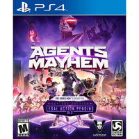 OPENBOX Agents Of Mayhem PS4 Video Game (Sony PlayStation 4 2017)