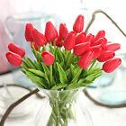 5×Artificial Tulipanes Ramo De Flores Decoración Hogar Boda Fiesta Flor