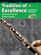 Tradition Of Excellence-Alto Clarinet Music Book/Internet Level 3 New On Sale!