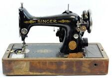 Antique Singer Sewing Machine Lot 153