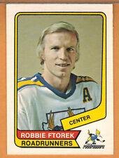 1976-77 , OPC , O-PEE-CHEE , (WHA) , ROBBIE FTOREK , CARD #13