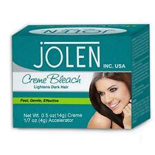 JOLEN BLEACH LIGHTNES THE DARK FACE HAIR/FACIAL CREAM/REMOVE DEAD CELLS 18 gms