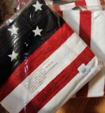 Pottery Barn Mini Stars Beach Towel Pool Summer American Flag Print New