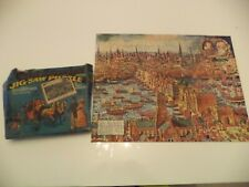 OLD VINTAGE BOXED welcom old london JIGSAW PUZZLE 300 pieces william ellis