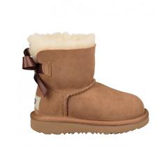Ugg Australia Toddler Bailey Bow II Star Chestnut Boots