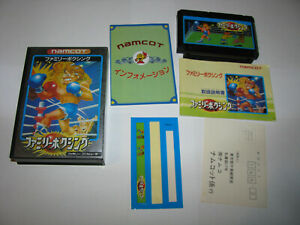 Family Boxing Famicom NES Japan import boxed complete + reg card US Seller