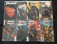 The Shadow #1 Alex Ross and #1, 1, 2, 3, 4, 5, 6 Orlando