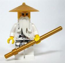 Lego Ninjago Sensei Wu with Golden Staff, 70505 NEW 2013 Series No Box