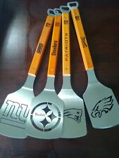 NFL Stainless Steel Spatula Grilling BBQ  tools Sportula  bottle opener