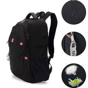 Mens Swissgear 17.3inch Laptop Backpack/Notebook Bag/Rucksack Backpack UK