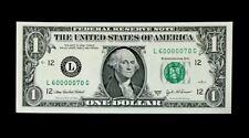 2003A $1 SUPER FANCY SER# 60000070 - SUPERB GEM NEW - BEAUTIFUL