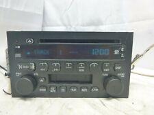 04-06 Buick Rendezvous Regal LaCrosse Century Radio Cd Cassette 10333584 AFW07