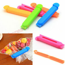 10PCS Kitchen Storage Food Snack Seal Sealing Bag Clip Sealer Clamp Plastic Tool