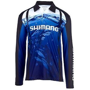 Shimano Underwater Sublimated Fishing Shirt Polo