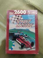 Sprint Master New Sealed Atari 2600 Video Game System