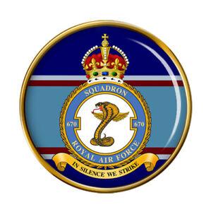 670 Escadron, Raf Broche Badge