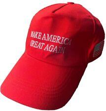 MAKE AMERICA GREAT AGAIN Basecap mit USA Fahne DONALD TRUMP 2020 US Wahl Rot
