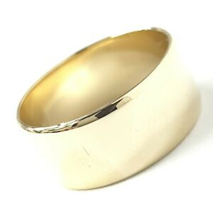 9ct Gold WEDDING BAND 8.5mm Wide Plain 5.2g Yellow Size R Fully Hallmarked