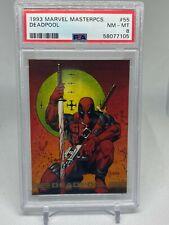 1993 Marvel Masterpieces Deadpool PSA 8 Mutants Comics Skybox Gem Mint LOW POP