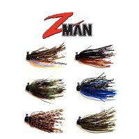 Z Man Shroomz Micro Finesse Jig 1/8 Oz 2pk Bass, Walleye, Trout Fishing Lure
