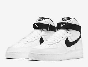 Nike Air Force 1 High '07 Shoes White Black CT2303-100 Men's Multi Sizes NEW