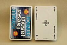 Jeu de cartes à jouer - objet publicitaire Shell Formule Diesel - NEUF