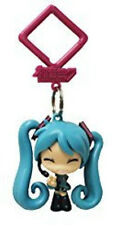 Vocaloid 2'' Hatsune Miku Happy Hanger Figure Bag Clip Key Chain NEW