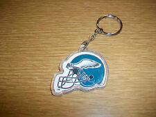 Vintage Plastic Keychain NFL Philadelphia Eagles Football Helmet Logo