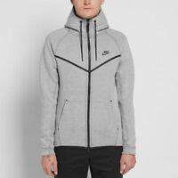 Nike Tech Fleece Windrunner -CHOOSE SIZE 805144-072 Black Light Bone Grey Jacket