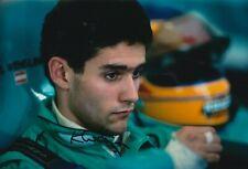 Karl Wendlinger Hand Signed 12x8 Photo - March F1 - Formula 1 1.