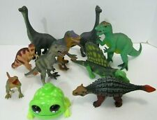 High Quality Play Dinosaur Lot of 8 Plus Bonus Yellies Lizard Large figures Toys