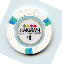 1.00 Casino Chip from the Oaklawn Casino Hot Springs Arkansas