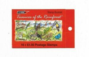 Booklet- Treasures of the Rainforest - Trinidad & Tobago - 2002