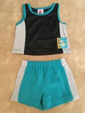 Peanuts Snoopy Surfing Tank Top and Shirt Set, Size 12 Months