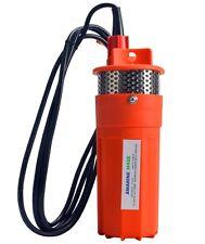 24 Volt DC Submersible Deep DC Solar  Well Water Pump, Solar, battery-good new