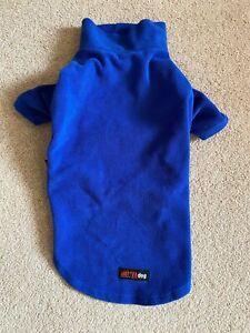 HotterDog (Equafleece) size Medium Blue Dog Fleece - water resistant