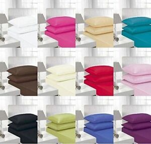 """EXTRA DEEP 16""""/40CM DEEP FITTED  SINGLE,DOUBLE, KING, SUPER KING SHEETS"""